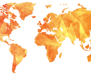 map, world, and yellow image