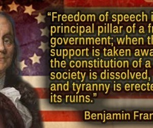 free speech, freedom of expression, and quotes on free speech image