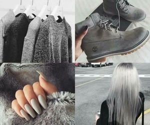 gris and shoes image