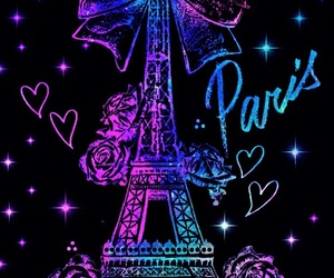glitter, paris, and wallpaper image