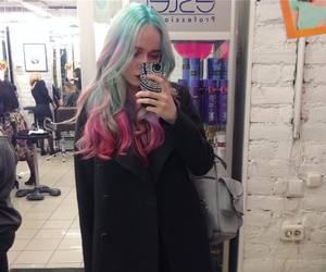 aesthetic, fashion, and white hair image