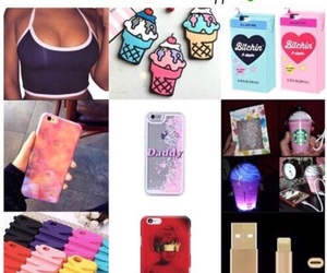 cases, free stuff, and clothes image
