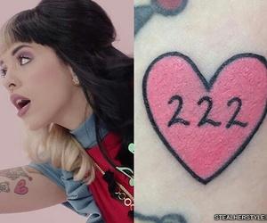 tattoo, 222, and melanie martinez image