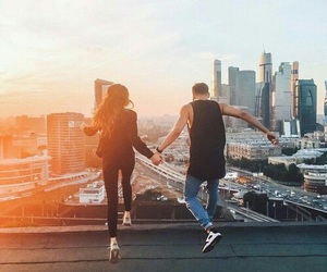 love, boy, and city image