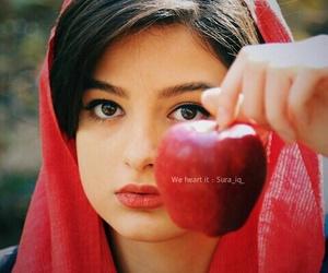 girls, hijab, and scarf image