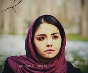 girls, scarf, and محجبات image