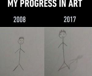 art, me, and progress image