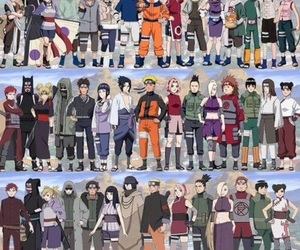 naruto, anime, and sakura image