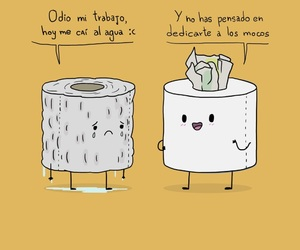 funny, gracioso, and papel image