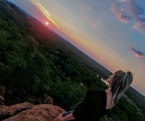 nature, south africa, and sunsets image