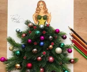 christmas and art image