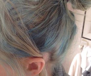 alternative, blue, and hair goals image