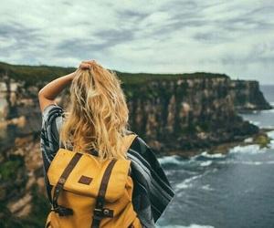 travel, adventure, and sea image