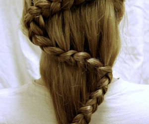 hair and plait image