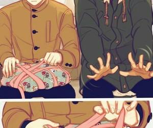 hq, yaoi, and fukurodani image