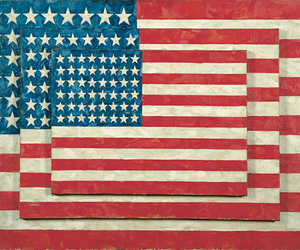 america, three flags, and art image