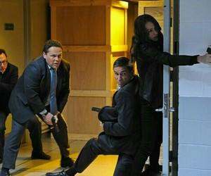 poi, harold finch, and root image