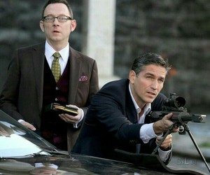 poi, harold finch, and person of interest image