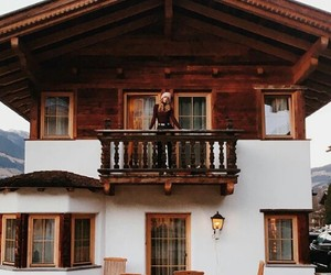 design, girl, and house image
