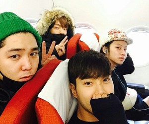 donghae, heechul, and kangin image