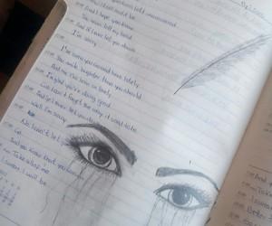drawing, Lyrics, and sws image