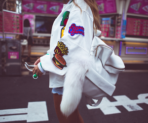 girl, style, and white image