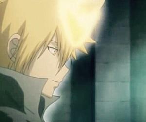 katekyo hitman reborn, anime boy, and anime image