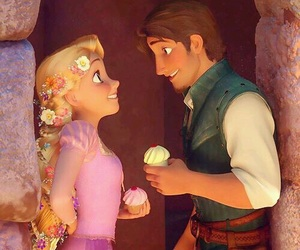 disney, love, and rapunzel image