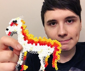 icon, youtube, and dan howell image