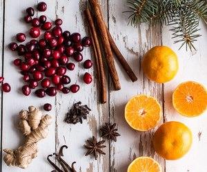 berries, orange, and Cinnamon image