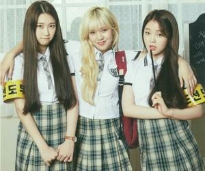 mimi, kim jiho, and seunghee image