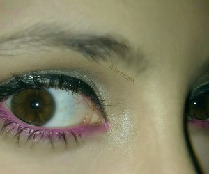 beauty, cateye, and make up image