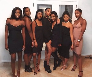 girls, melanin, and chloe kitembo image