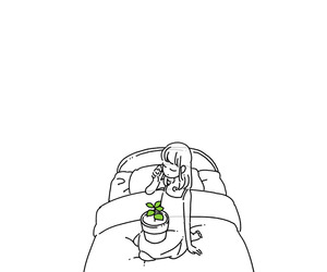 anime, plant, and tumblr image