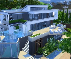 Houses, the sims, and the sims 4 image