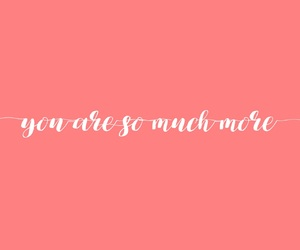 motivation, typography, and pink image