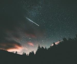 stars, sky, and night image