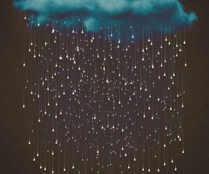 art, cloud, and stars image