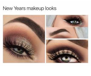 beauty, glitter, and looks image