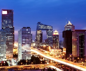 beijing, china, and central business district image