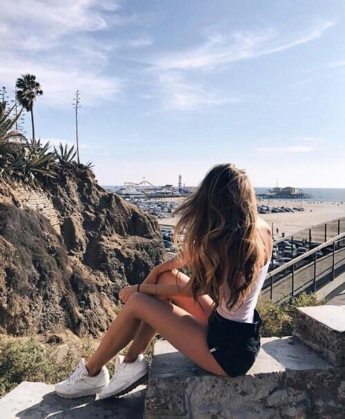 beach, big ass, and girl image