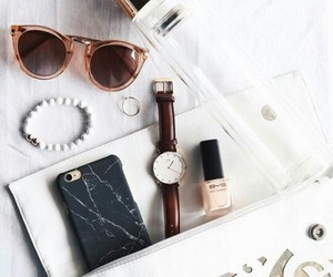 sunglasses, accessories, and watch image