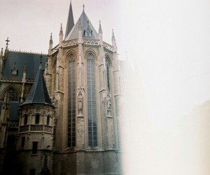 castle, vintage, and photography image