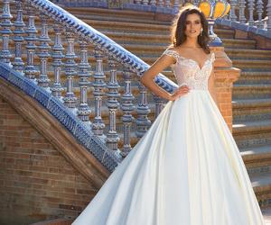 wedding dress and crystal design image