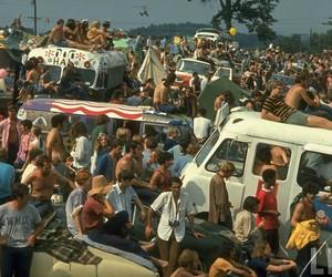 woodstock, hippie, and 60s image