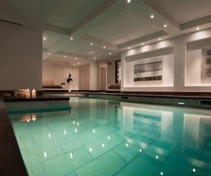architecture, luxury, and swimming pool image