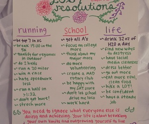 resolution, life, and new year image