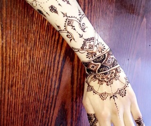 beautiful, design, and henna image