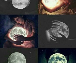 moon and light image
