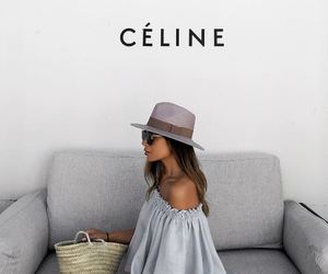 fashion, girl, and celine image